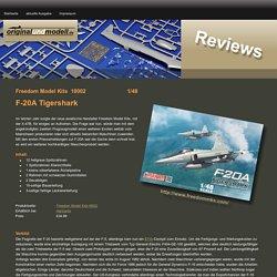 Bausatzbesprechung zu Freedom Model Kits F-20A Tigershark