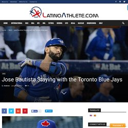 MLB Rumors: Jose Bautista, Blue Jays Nearing Two-Year Contract Worth $35M To $40M