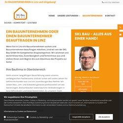 Bauunternehmen & Bauunternehmer in Linz