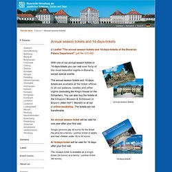Bavarian Palace Department