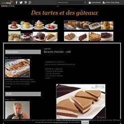 Bavarois chocolat - café