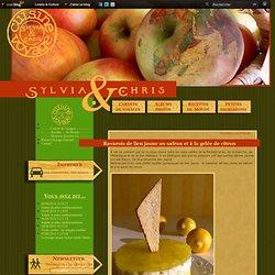 Bavarois de lieu jaune au safran et à la gelée de citron - Sylvia et Chris : Carnet de voyages, recettes du Monde, autour du globe et de l'assiette