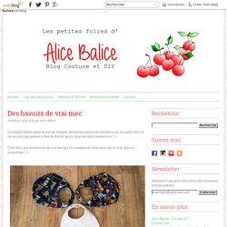 Des bavoirs de vrai mec - Les Petites Folies d'Alice Balice