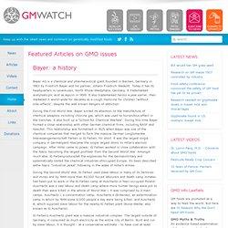 Bayer: a history
