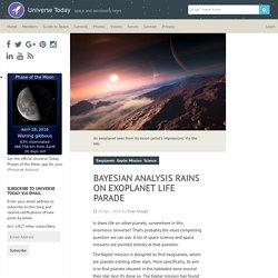 Bayesian Analysis Rains On Exoplanet Life Parade - Universe Today