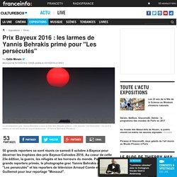"""[France Info] - Prix Bayeux 2016 : les larmes de Yannis Behrakis primé pour """"Les persécutés"""""""