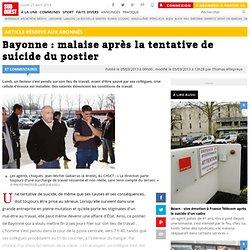 Bayonne : malaise après la tentative de suicide du postier