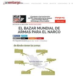 EL BAZAR MUNDIAL DE ARMAS PARA EL NARCO