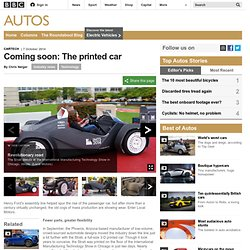 Autos - Coming soon: The printed car