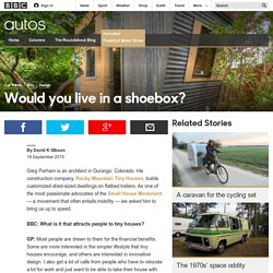 Autos - Would you live in a shoebox?