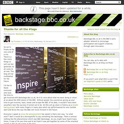 backstage.bbc.co.uk :: Front Page ::