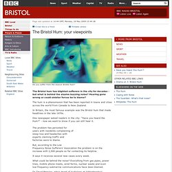 BBC - Bristol - The Bristol Hum: your viewpoints