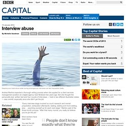 Capital - Interview abuse