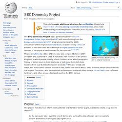 BBC Domesday Project