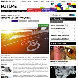 How to get a city cycling