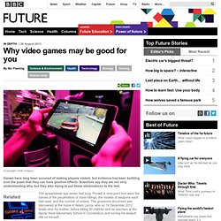 Science & Environment - Why video games may be good for you