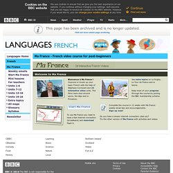 Languages - French - Ma France
