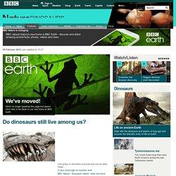 BBC Nature - Dinosaurs