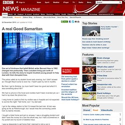 A real Good Samaritan
