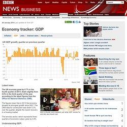 Economy tracker: GDP