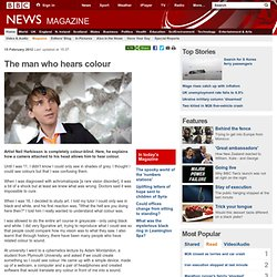 The man who hears colour