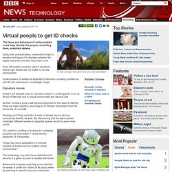 Virtual people to get ID checks