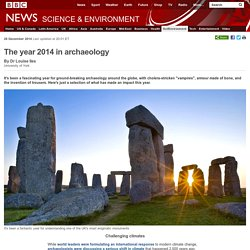 The year 2014 in archaeology