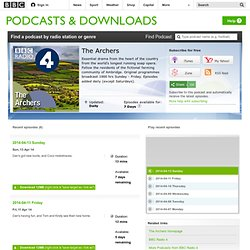 Podcasts - The Archers