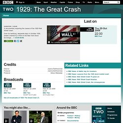 BBC Two Programmes - 1929: The Great Crash