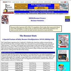 Boomer Statistics