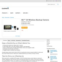 BC 30 Wireless Backup Camera