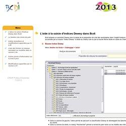 BCDI 2013