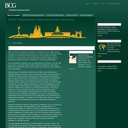 BCG en España - BCG en España