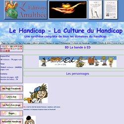 BD handicap,Album la bande à ED - Le Handicap - La Culture du Handicap
