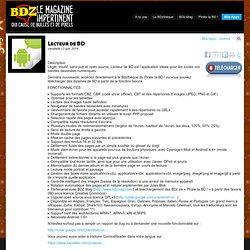 BD numérique : Lecteur de BD - BDZMag