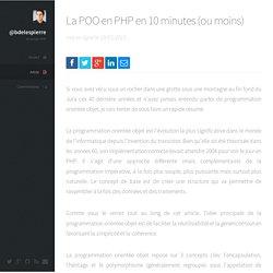@bdelespierre - La POO en PHP en 10 minutes (ou moins)