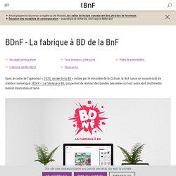 BDnF - La fabrique à BD de la BnF