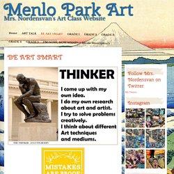 Menlo Park's Art Studio