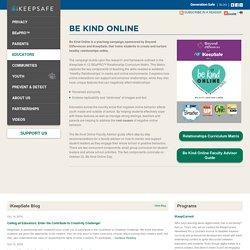 Be Kind Online — ikeepsafe.org
