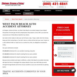 West Palm Beach, FL Car Accident Lawyer