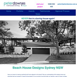 Dream Beach House Designs Sydney NSW