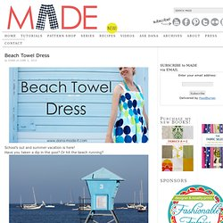 Beach Towel Dress