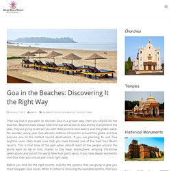 How to Discover Goa in the Right Way