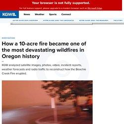 How the Beachie Creek fire devastated Santiam Canyon, Oregon 2 clicks