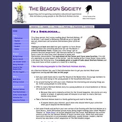 Beacon Society: I'm a Sherlockian