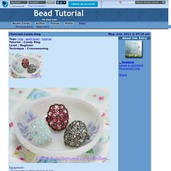Bead Tutorial - [Tutorial] Candy Ring
