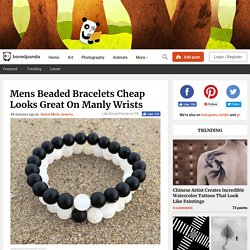 Mens Beaded Bracelets Cheap Looks Great On Manly Wrists