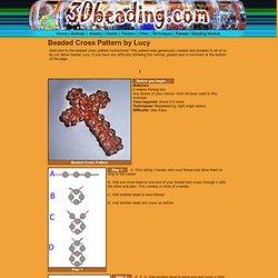 Beaded Cross Pattern