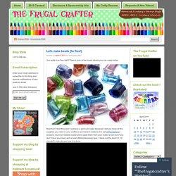 Thefrugalcrafter's Weblog