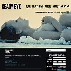 Beady Eye : Official Website